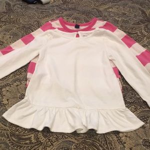 ❣️Clearance❣️Baby Gap 3 Years Lot Top Sweatshirt